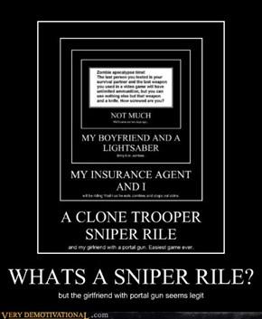 WHATS A SNIPER RILE?