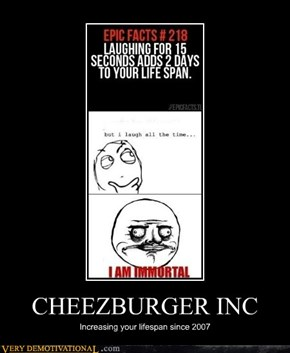 CHEEZBURGER INC