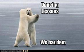 Dancing Lessons We haz dem