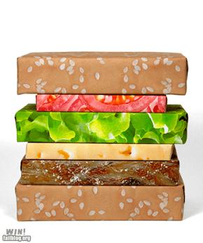 Cheeseburger Wrapping WIN