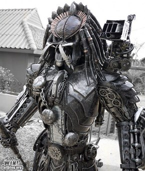 Predator Sculpture WIN