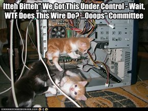 "Itteh Bitteh"" We Got This Under Control - Wait, WTF Does This Wire Do? ...Ooops"" Committee"