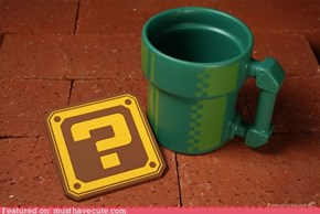Mario Pipe Coffee Mug