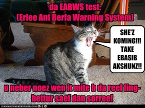 Testing da EABWS -dis tiem itz onlee a test!
