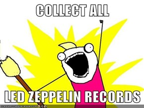 COLLECT ALL  LED ZEPPELIN RECORDS