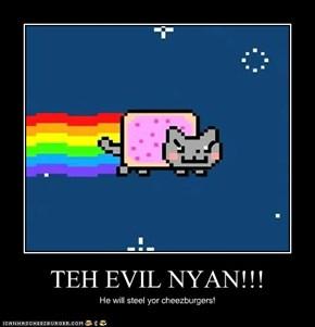 TEH EVIL NYAN!!!