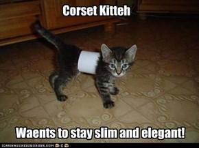 Corset Kitteh