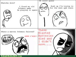 Battery Rage.