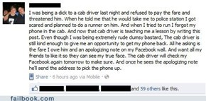 Don't F**k With Your Cab Driver