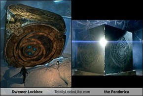 Dwemer Lockbox Totally Looks Like the Pandorica