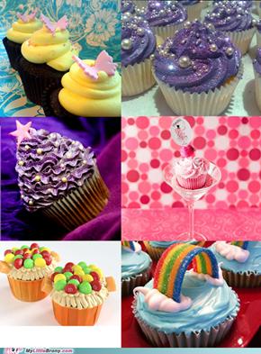 Mane Six Cupcakes