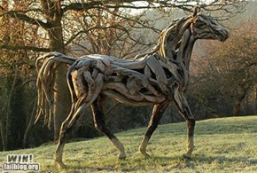 Driftwood Horse WIN
