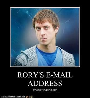 RORY'S E-MAIL ADDRESS