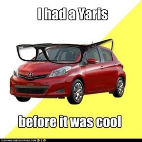 I had a Yaris