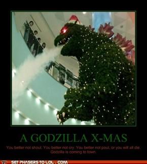 A Godzilla X-Mas