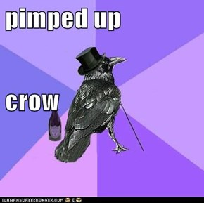 pimped up crow