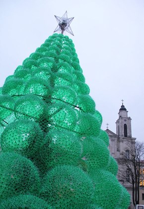 Amazing Recycled Tree, or Massive Holiday Raft?