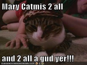 Mary Catmis 2 all  and 2 all a gud yer!!!