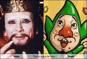 lopan Totally Looks Like tingle