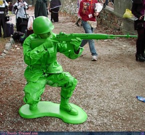 Cosplay Win: Toy Soldiers