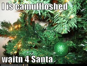 I is camulfloshed  waitn 4 Santa