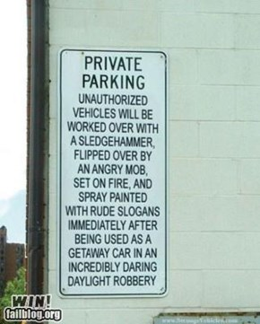Private Parking WIN