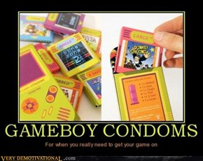 Gameboy Condoms