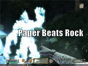 Paper Beats Rock