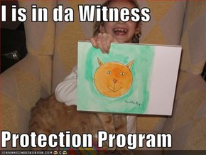 I is in da Witness  Protection Program