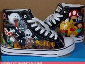Super Mario Sneakers