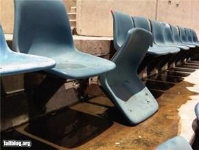 Stadium Seat FAIL