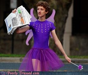 The Newspaper Fairy