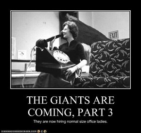 THE GIANTS ARE COMING, PART 3