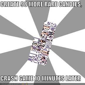 CREATE 98 MORE RARE CANDIES,  CRASH GAME 10 MINUTES LATER