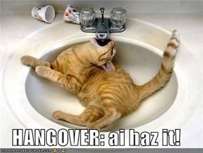 HANGOVER: ai haz it!