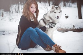 Let the Mittens Match the Malamute