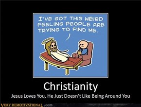 Christianity is a Love/Hate Relationship