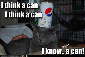 I think a can     I think a can                                   I know.. a can!