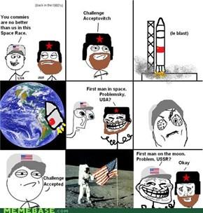 Le Space Race!
