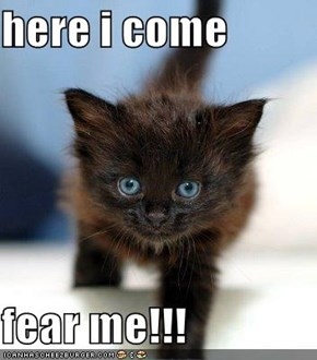 here i come  fear me!!!