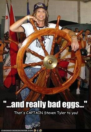 Steven Tyler --> Captain Jack Sparrow