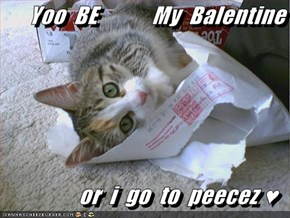 Yoo  BE            My  Balentine  or  i  go  to  peecez ♥
