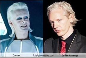 Castor Totally Looks Like Julian Assange