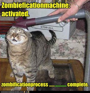 Zombieficationmachine:  activated.