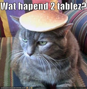 Wat hapend 2 tablez?