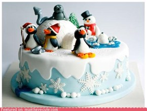 Epicute: Winter Wonderland Cake