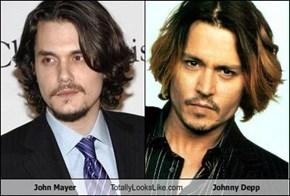 John Mayer Totally Looks Like Johnny Depp
