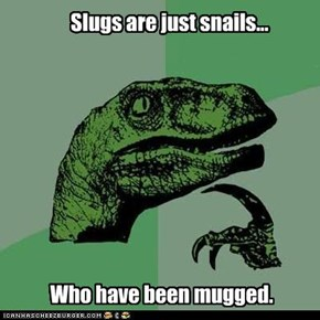 Slugs are Just Victims