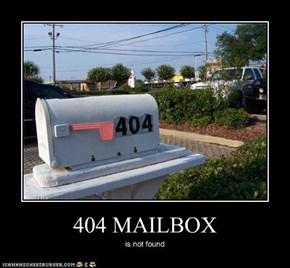404 MAILBOX