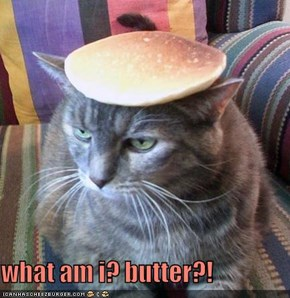 what am i? butter?!